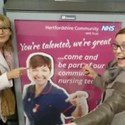 A prize selfie to promote nursing jobs