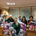 Health service an easy decision for toy donation
