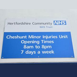 Cheshunt minor injuries service to be run by new NHS partnership