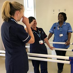HCT shows improving scores once again in the NHS national staff survey